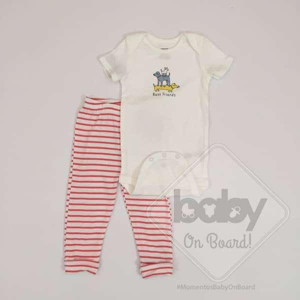 Conjunto Carter's Bebe Niño Talla 12 meses 0