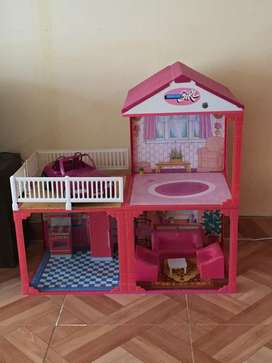 CASITA DE LA BARBIE Y CARRO