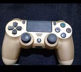 Joystick PS4 dorado