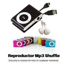 Reproductor Mp3 metálico shuffle