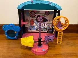 Colección de petsshops y sets de juego