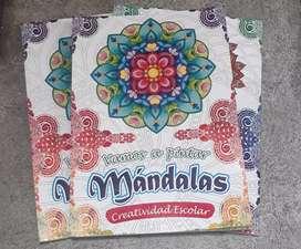 Libros Mandalas para colorear. 72 páginas.