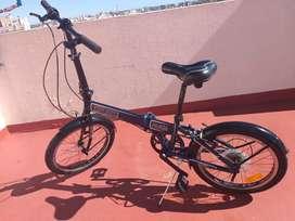Bicicleta plegable rod 20, Explorer Folding, con 7 cambios Shimano. Inmaculada!