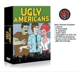 Ugly Americans Serie Animada Completa