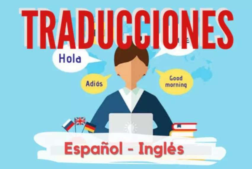 Hago traducciones español inglés y viceversa
