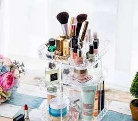 Organizador De Maquillaje 360 Grados En Acrílico