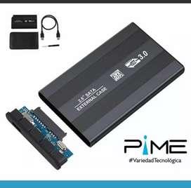 Caja de disco duro para portátil con conexión 2.0 y 3.0