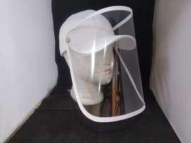 Gorras con protección facial