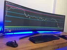 Monitor Samsung 49 Curvo Hg90