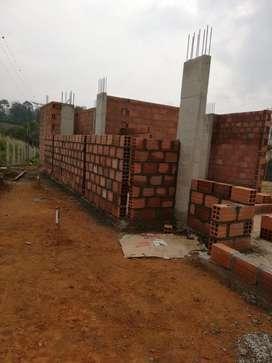 OPORTUNIDAD !! Vendo parcela en ruitoque alto con casa en construccion