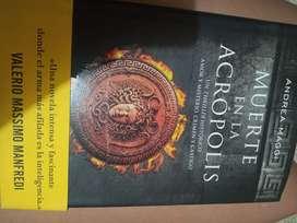 Vendo libro Muerte en acropolis