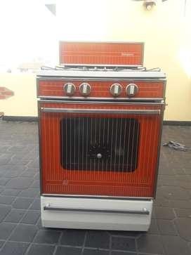 Cocina Simplex Roja