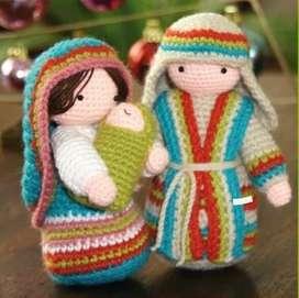 Decoracion navideña y regalos en crochet