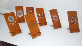 Porta celulares en MDF 8cm x19 cm
