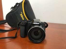 Cámara Nikon Coolpix B600 + 32gb + Estuche.