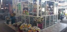 Tienda naturista y floristeria