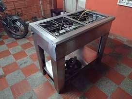 Excelente estufa industrial dos hornos en acero inoxidable