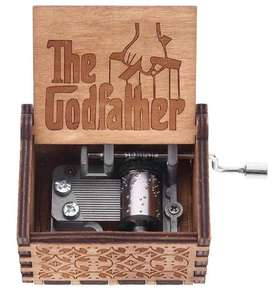 Caja Musical The Godfather El Padrino Madera GoodFather