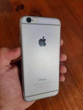 Iphone 6 impecable!! 32gb batería en capacidad max! lo q se ve roto es el film protector NO LA PANTALLA