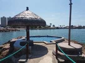 Alquilo Departamento Amoblado al Pie de la Playa 3BR 2BTH