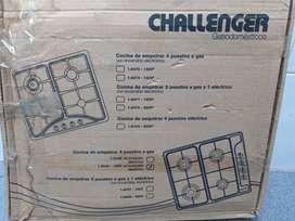 Estufa Acero Inoxidable de 4 puestos Challenger