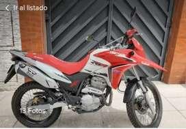 Vendo Honda xre 300 c.c 2013 impecable!