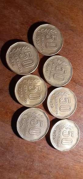 Coleccion de monedas 1970-1976