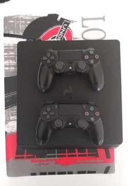 PS4 Playstation 4  2 Jostick  FIFA 18 físico