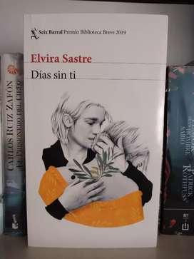 Días sin ti Elvira Sastre Libro