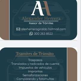 ASESORIAS TRAMITES TRANSITO ENVIGADO Y ANTIOQUIA