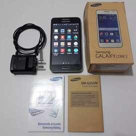 Celular Samsung Core 2, anda perfecto, con garantía