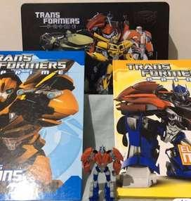 Transformers Lata y Primer Fascículo