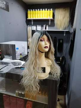 Pelucas de cabello humano idetectables