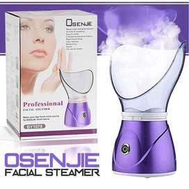 Vaporizador Sauna Facial Limpieza con Mascara Nasal 2 En 1