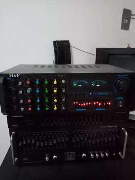 Se vende amplificador H&F 801