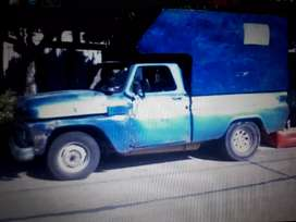 Camioneta C/10/65 zf gnc motor ok titular remaro