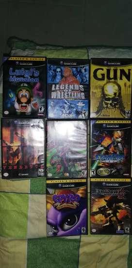 Se venden juegos originales para gamecube
