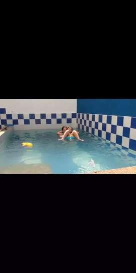Vendo o permuto casa Carmen apicala,piscina privada,recibo vehículo