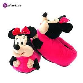 Pantuflas para niños y adultos
