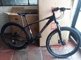 Bicicleta Rali, frenos hidráulicos