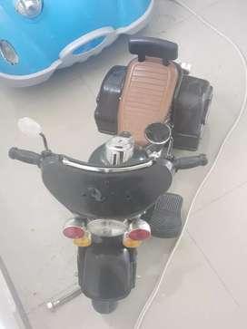 Carrito y Moto para ñiños
