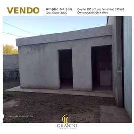 VENDO O ALQUILO AMPLIO GALPÓN