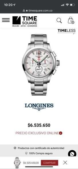 Reloj Longines Conquest VHP Cronografo 42mm Original Como Nuevo