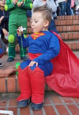 Disfraz  para niño Superman