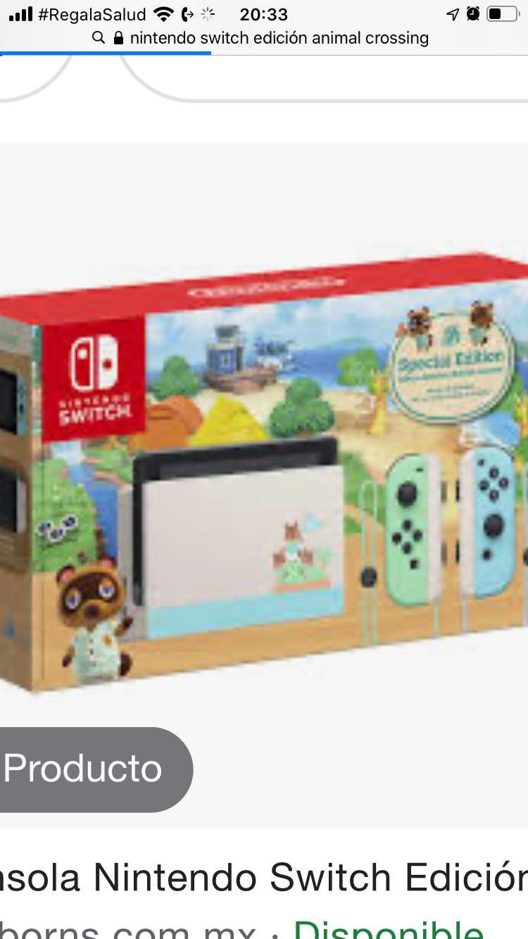 Vendo consola Nintendo switch animal crossing 0