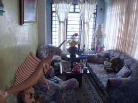 Casa Esquinera con Plafón para 2 piso