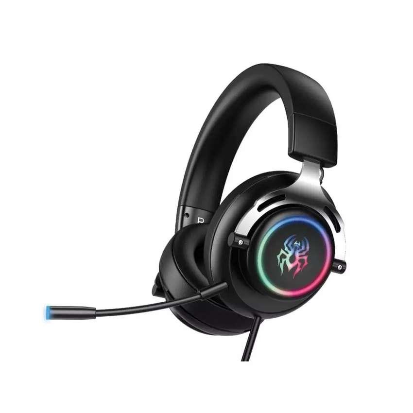 Audífonos Gamer 7.1 Abingo G605 Para Juego 0