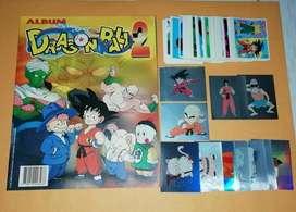 Album Dragon Ball 2 Peruano Antiguo