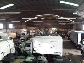 Alquilo Galpón 1400 m² excelente estado Norte Ciudad de Santa Fe
