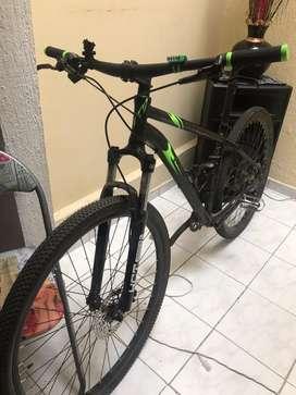 Bicicleta GW de 11 velocidades